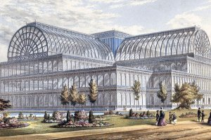 History of Double Glazing Windows in Birmingham - The Crystal Palace