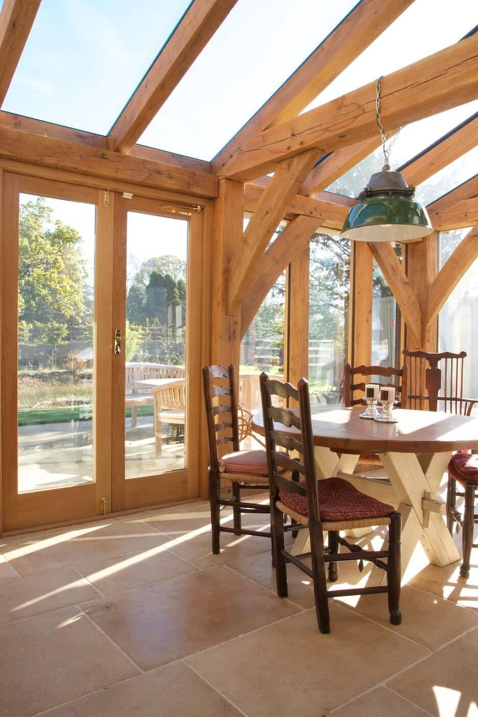 Conservatory Flooring Ideas - Stone Flooring