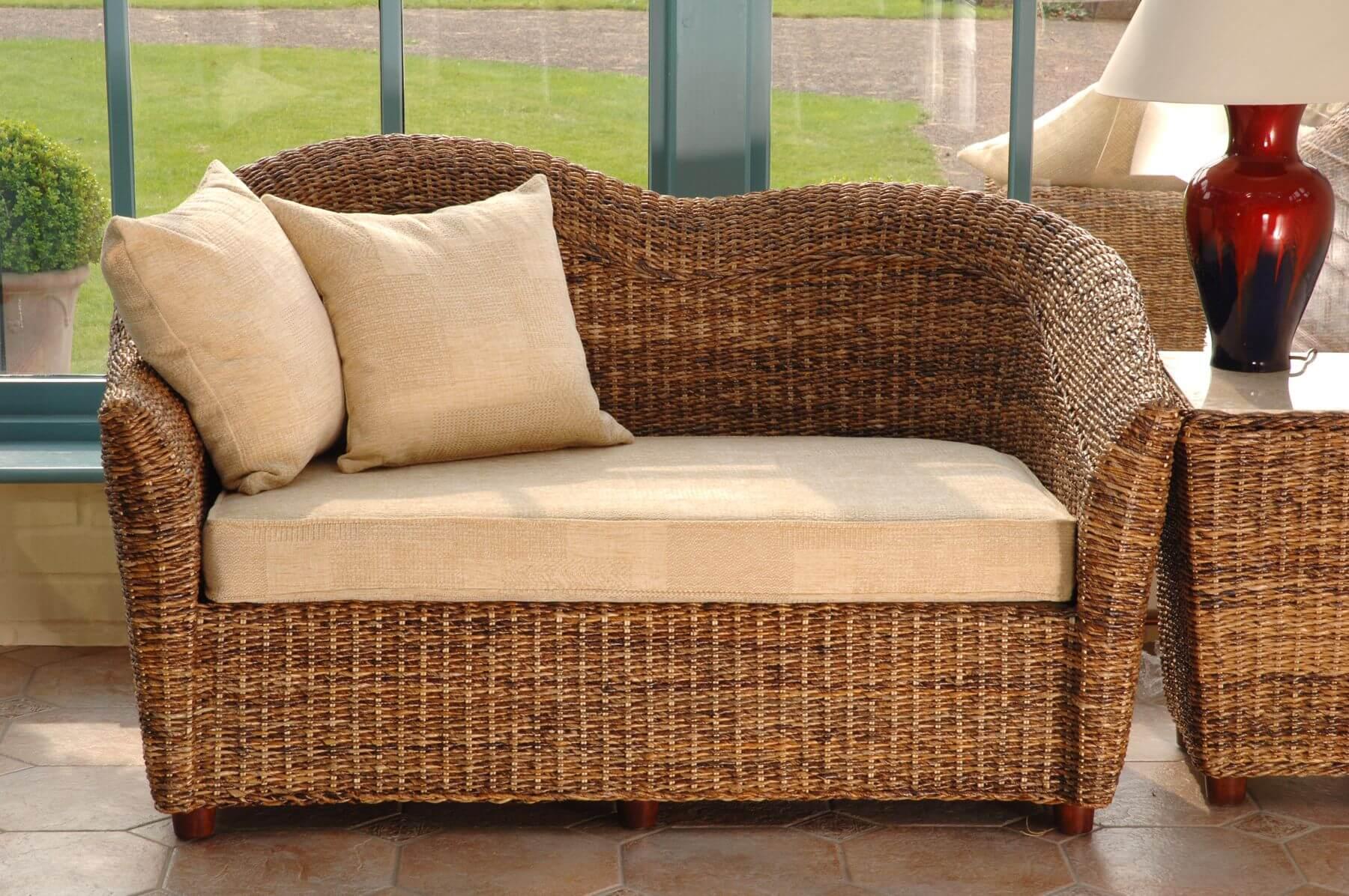 Conservatory Sofa Ideas - Wicker & Rattan Sofas