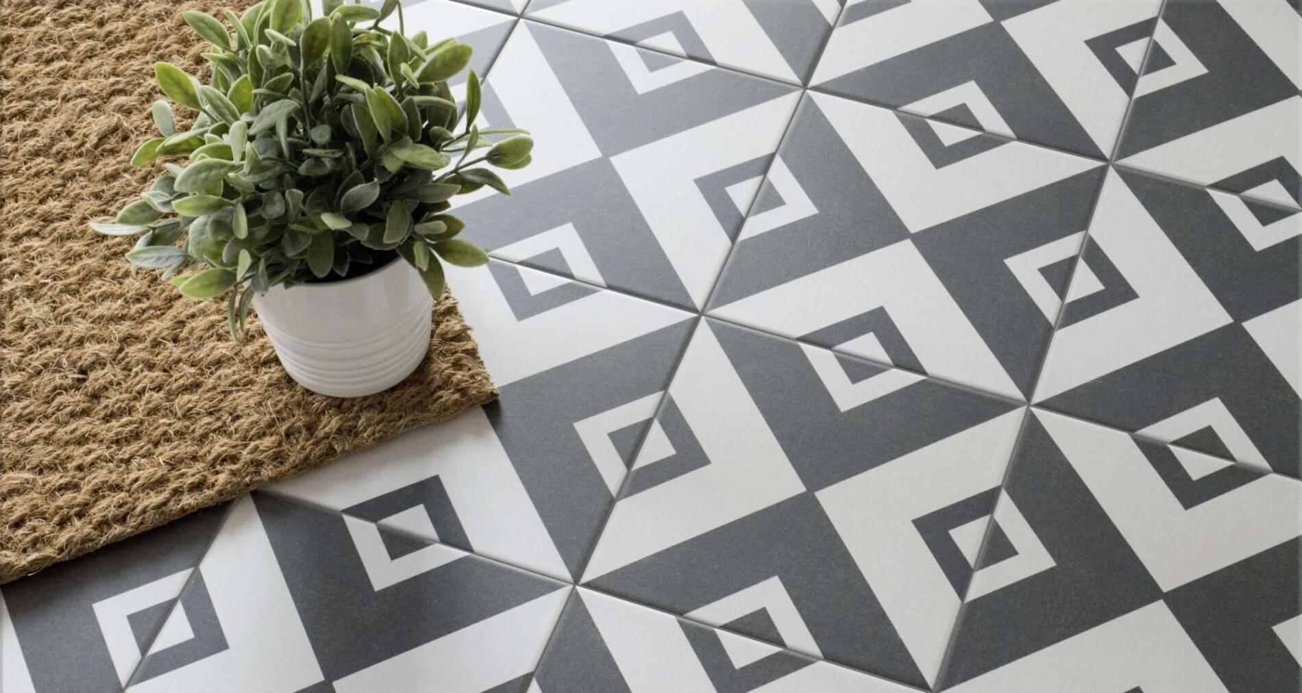 Conservatory Design Trends in 2020 - Alternating Tiles