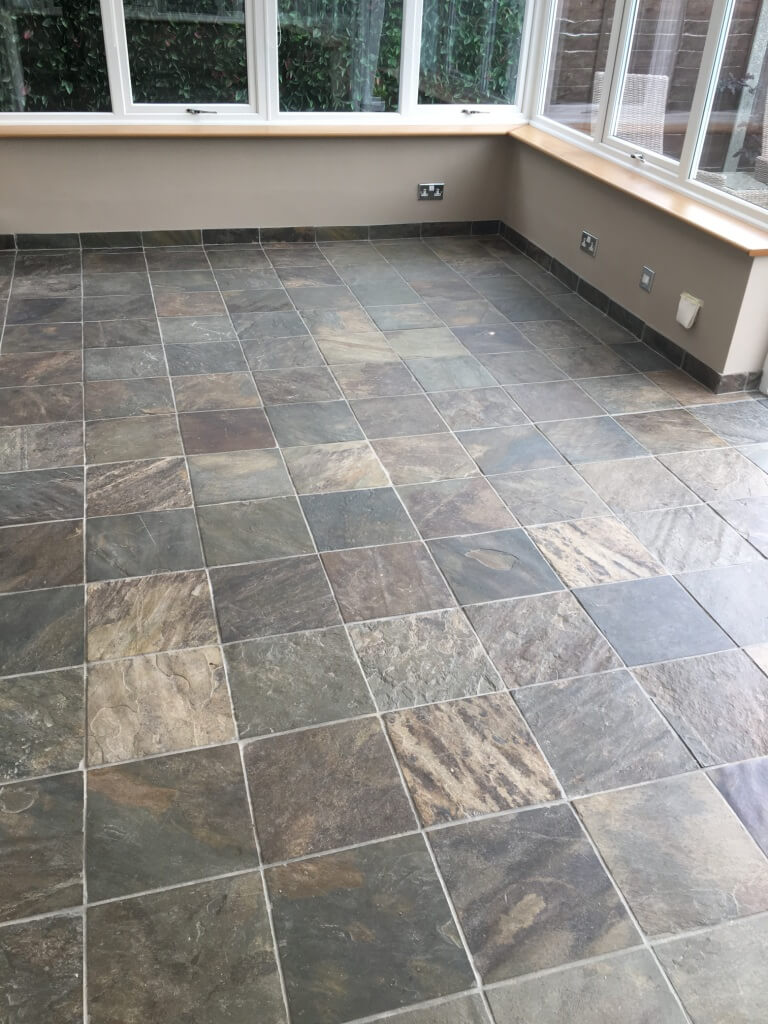 Conservatory Flooring Ideas - Tile Flooring