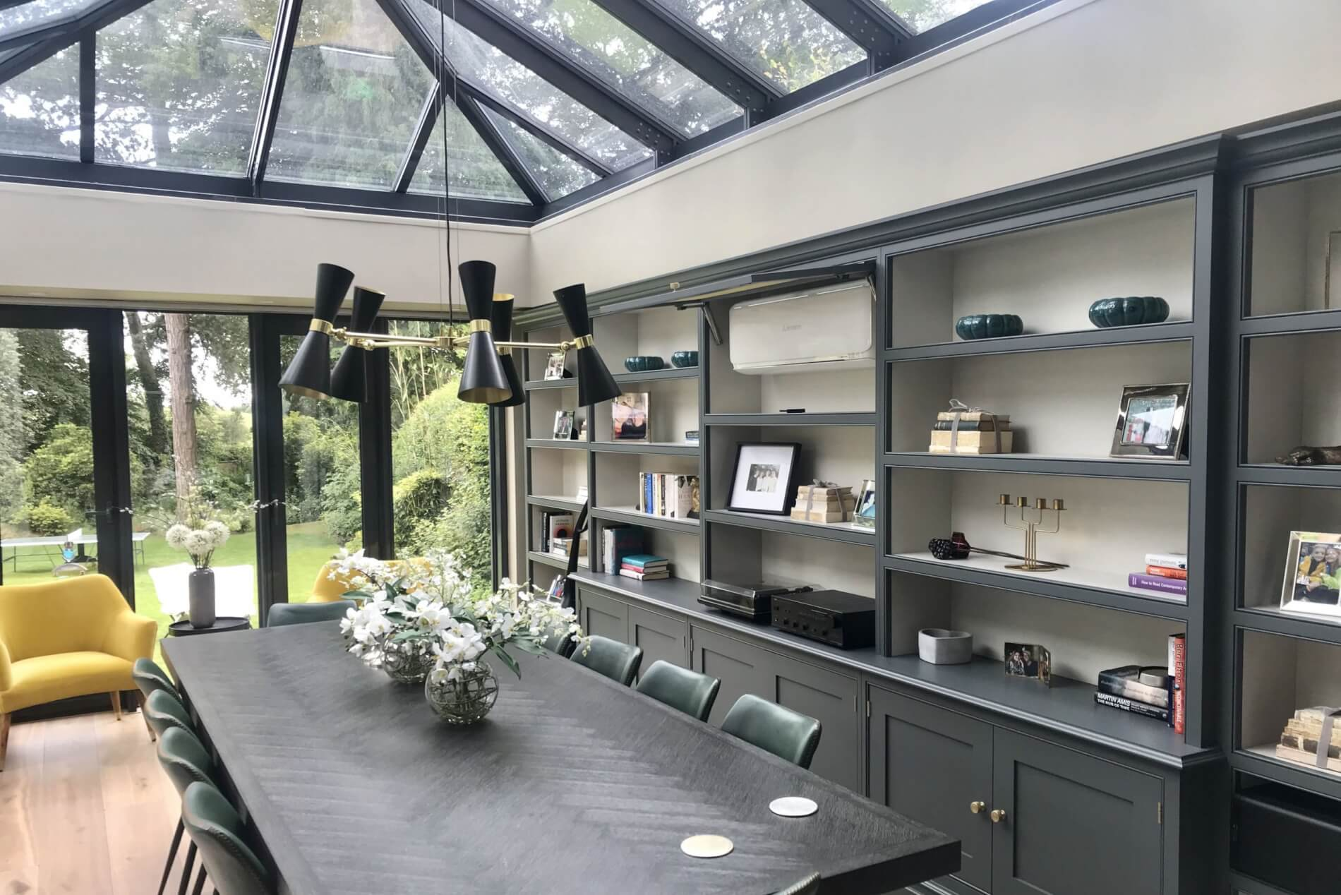 Conservatory Accessory Ideas - Shelving & Bookcases