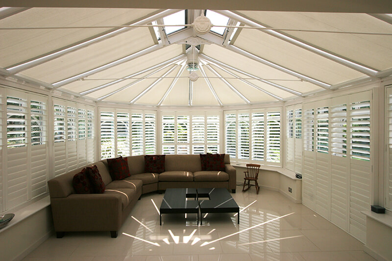 Conservatory Blinds - Roof Blinds