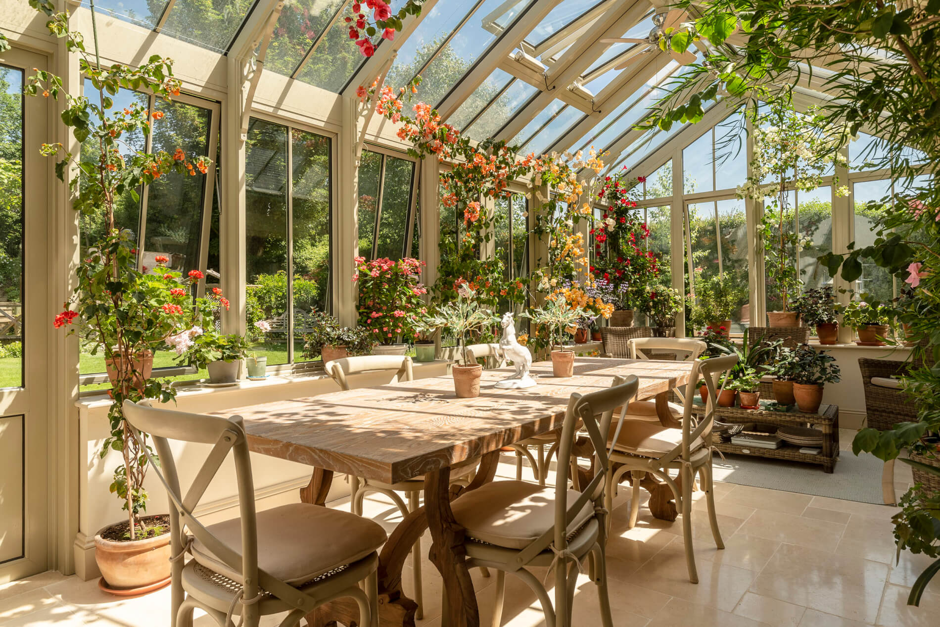 Conservatory Accessory Ideas - Plants