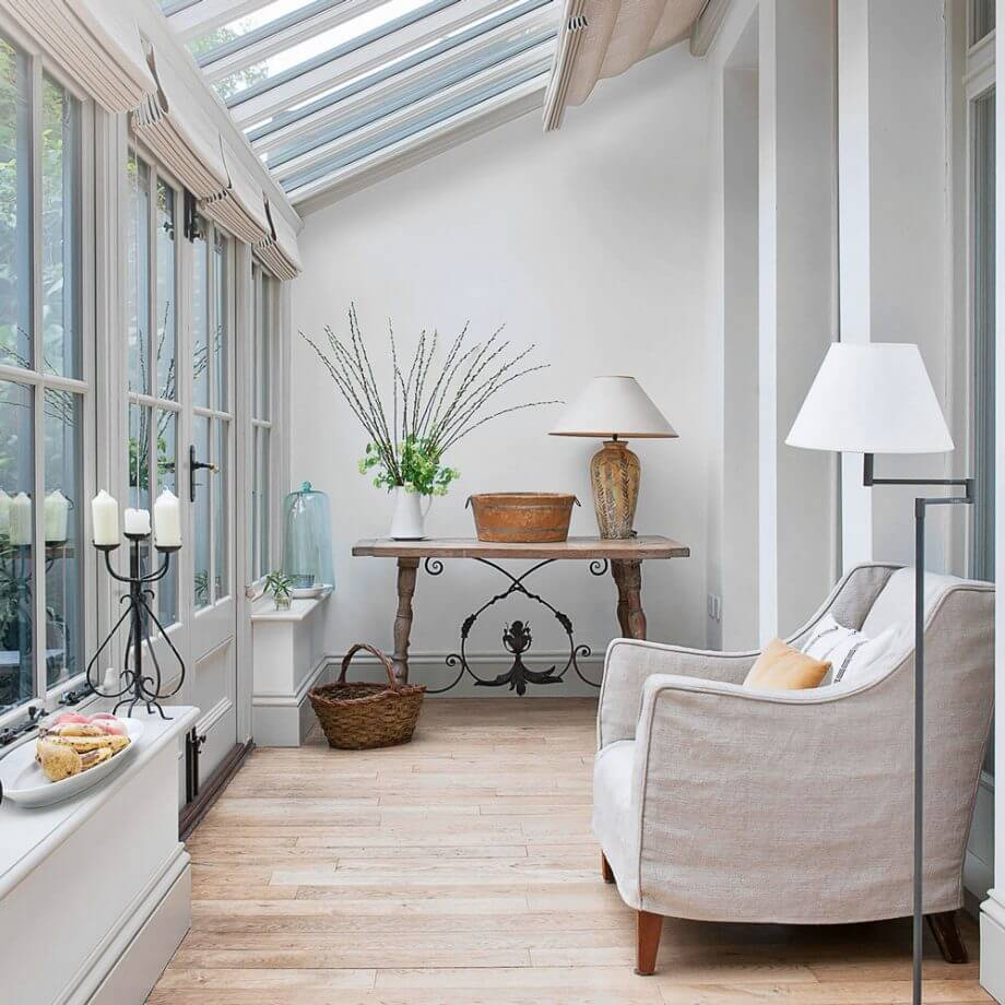 Conservatory Lighting Ideas - Floor & Table Lamps