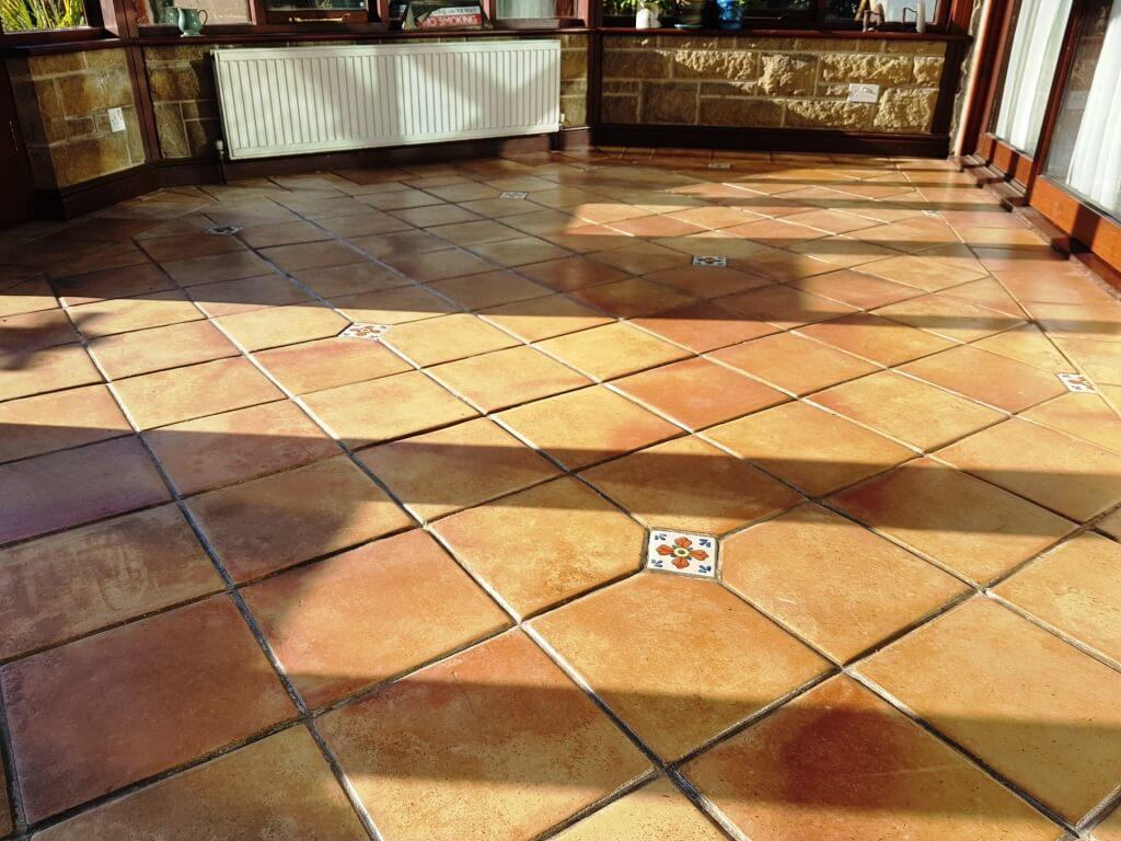 Conservatory Flooring Design Trends in 2020 - Terracotta Tile Flooring