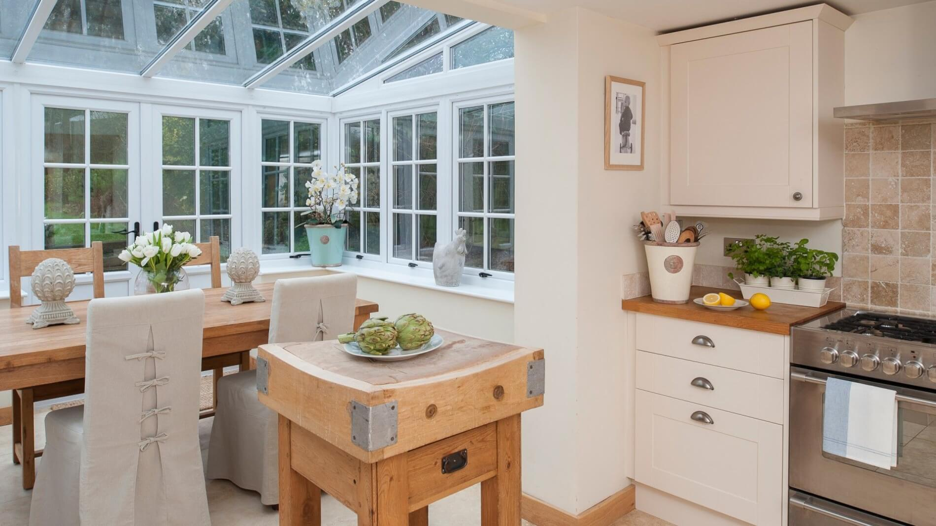 What Colour Should Your Conservatory Be - Cream