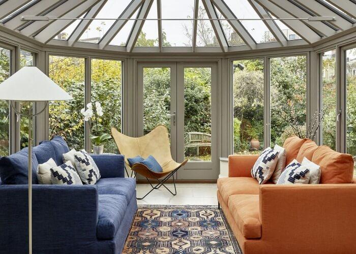Conservatory Sofa Ideas - Fabric Sofas