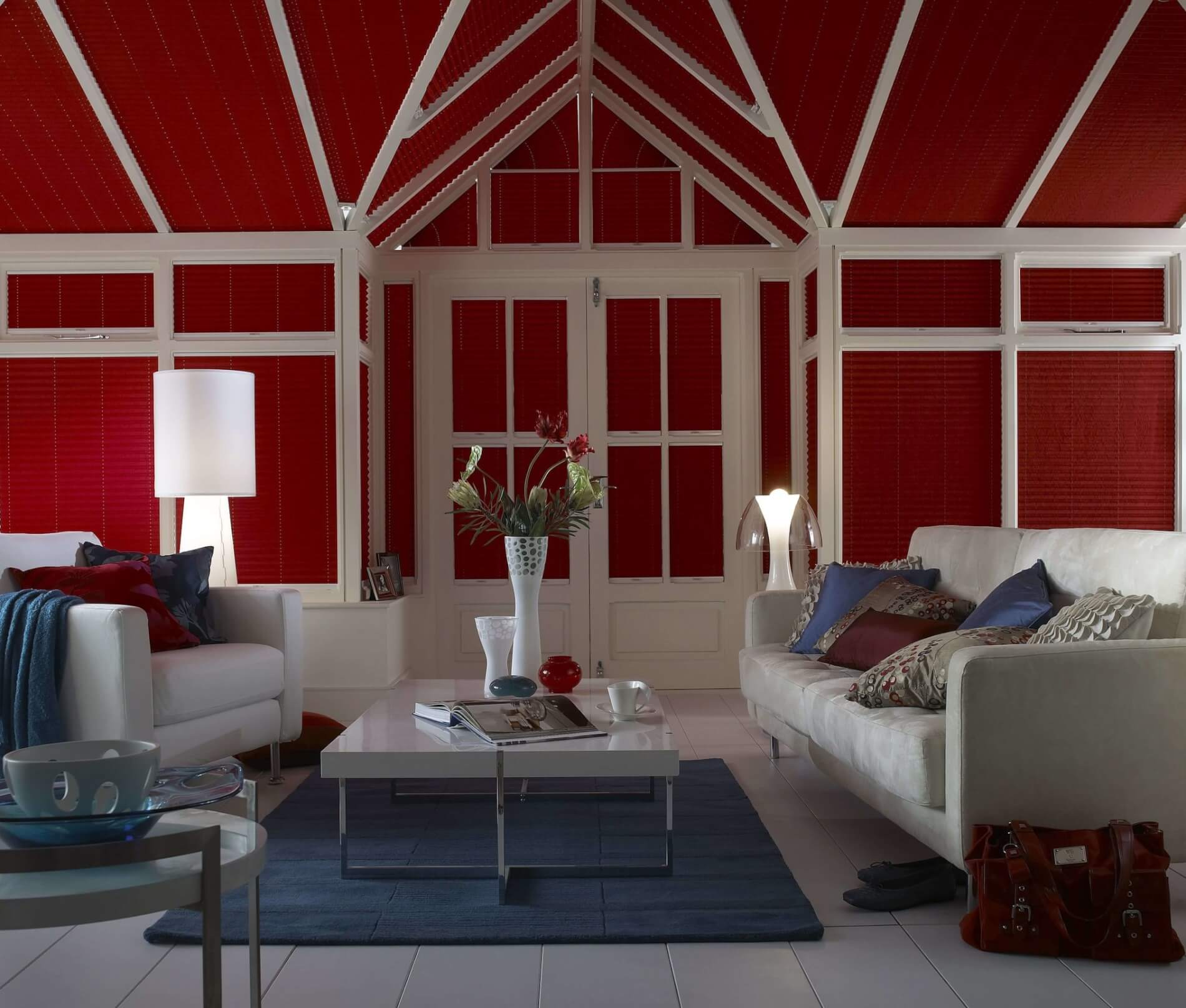 What Colour Should Your Conservatory Be - Red