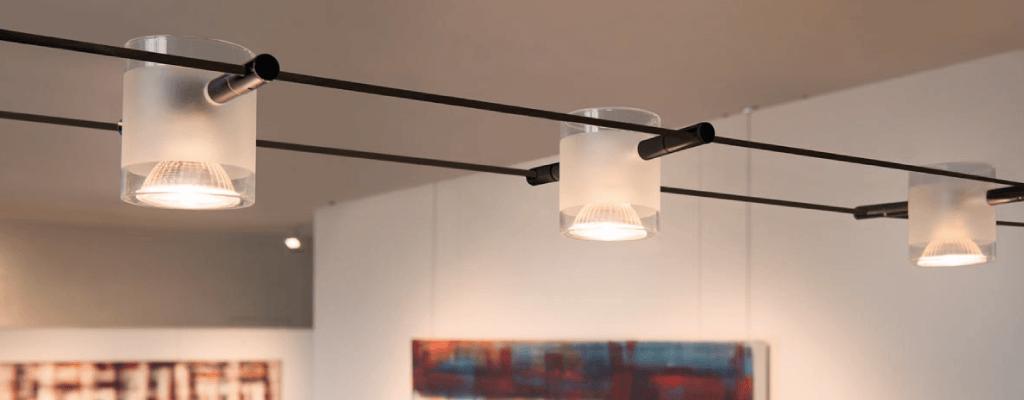 Conservatory Lighting Ideas - Wire Lighting
