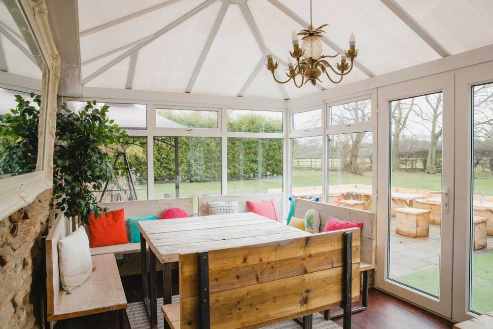 Dining or Socialising Room - Small Conservatory Ideas For 2020
