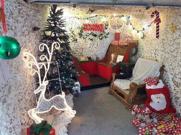 Create Your Very Own Conservatory Christmas Grotto