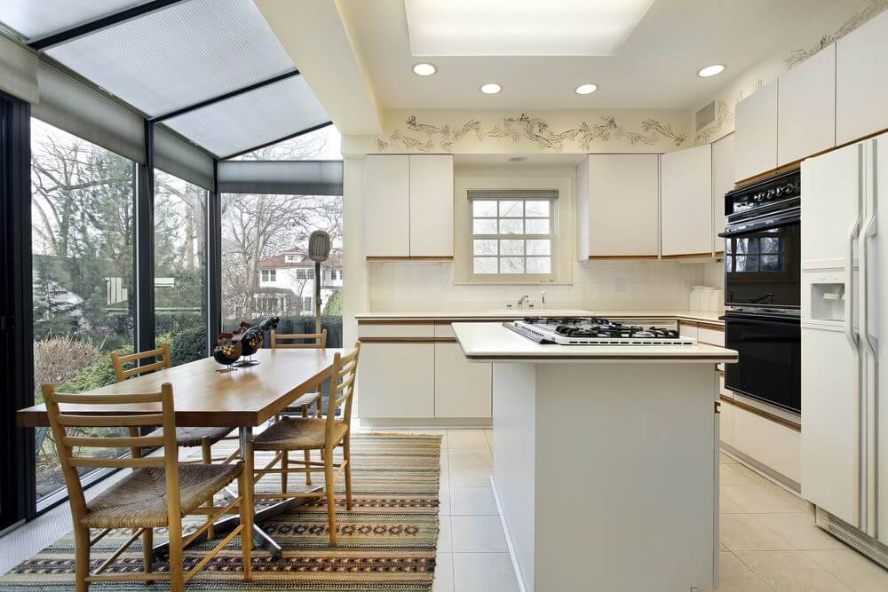 Lean-To Conservatory Kitchen