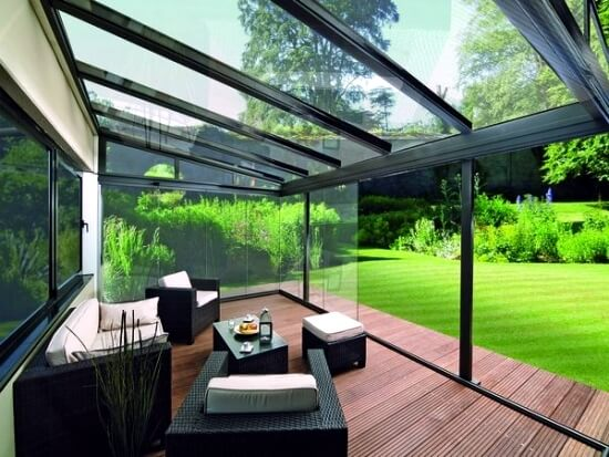 Modern Lean To Conservatory
