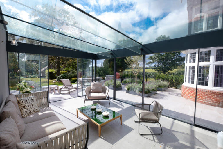 Glass Extensions Or Glass Boxes